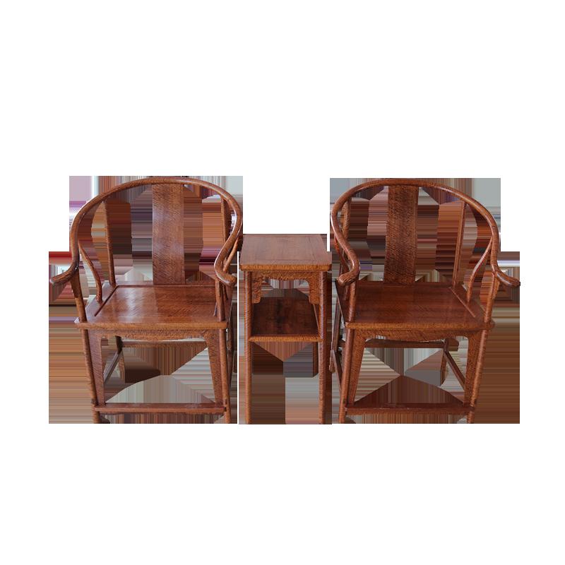 缅甸花梨小圈椅
